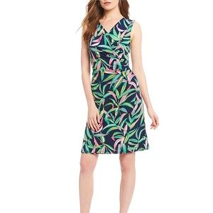 Tommy Bahama Sleeveless Faux Wrap Dress Size Small